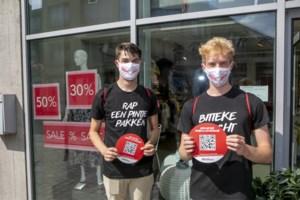 Stad Herentals rekent op 'coronastewards' in winkelstraat tijdens rustige start van solden