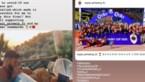 Van het geblesseerde duo Coopman-De Sart tot Hoedt in zijn zwembad: iedereen supporterde mee