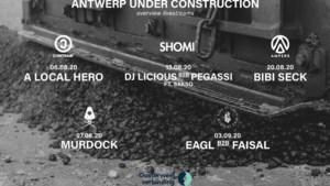 Antwerpse festivals en clubs laten vijf donderdagen op rij hun beats klinken op Oosterweelwerven