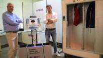 """Ondernemer uit Malle bindt strijd aan met pandemie: """"Objecten en ruimtes ontsmetten met UVC-licht is dé toekomst"""""""