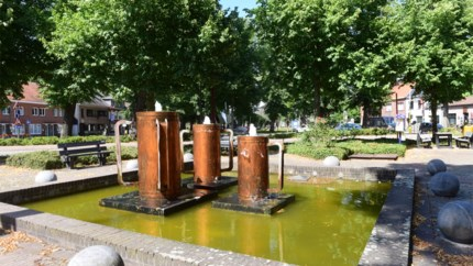 Marktplein Olen telde vroeger poel die diende als drinkplaats voor vee