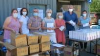 TVKA deelt duizend mondmaskers, vierhonderd handschoenen en één ijsje uit aan 250 thuisverplegers