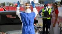 """120 personen getest op eerste dag van testdorp: """"In vier minuten binnen en buiten"""""""