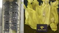 129 kilo cocaïne bestemd voor Antwerpen ontdekt achter valse wand van containerdeur