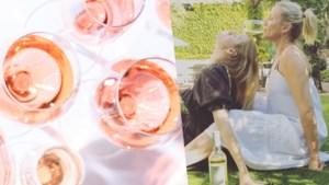 Spelletje voor in je bubbel: de uitdaging met een glas wijn, zoals gezien bij Cameron Diaz