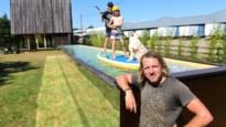 De Gouden Baai van de Kempen: Wim Tellier bouwt 'zwevend' zwembad voor zijn zonen