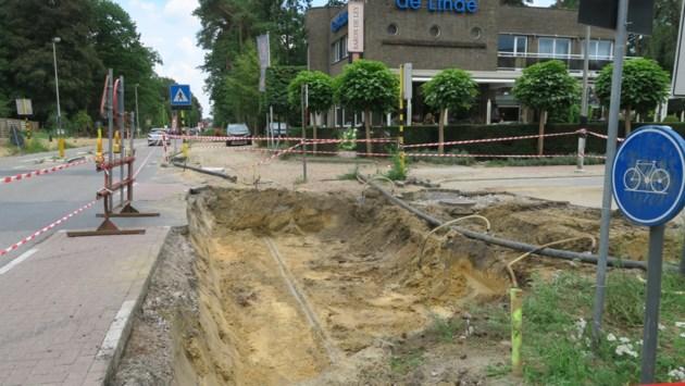 Nog negen maanden hinder op Botermelkbaan door aanleg fietspaden