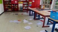 Vandalen slaan toe in elke ruimte van lagere school