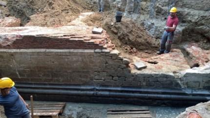 Archeologen leggen donkerste perioden in Antwerpse geschiedenis bloot door vondst zestiende-eeuwse muur van Citadel