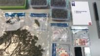 Politie vindt kilo cannabis bij drugsdealer