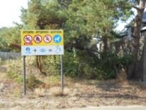Doorgangsverbod naar put van Rauw