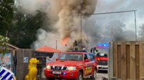 Chalet aan Schildestrand volledig uitgebrand
