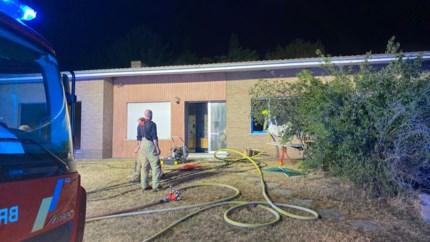 Vrouw zwaargewond bij keukenbrand in Geel