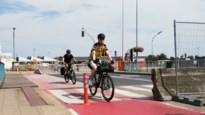 Stad neemt paaltjes op fietspad Colomabrug opnieuw weg