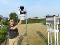 Weerman Lander (25) meet nog nauwkeuriger met nieuw weerstation in zijn tuin