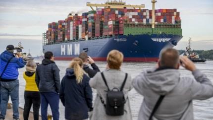 Opnieuw grootste containerschip op weg naar Antwerpen