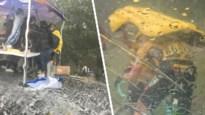 Na de zon komen de hagelbollen: renners (waaronder Tim Declercq) moeten schuilen voor helse onweersbui in de Dauphiné
