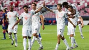TWEE-ACHT: Bayern Munchen veegt de vloer aan met Barcelona