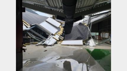 Dak van nieuwe demonstratiehal VITO stort in