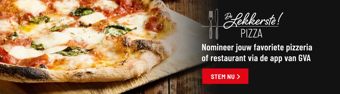 banner de lekkerste pizza