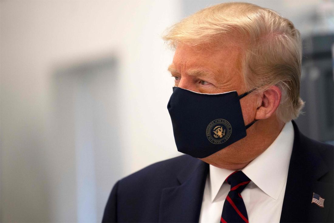 Trump Test Corona
