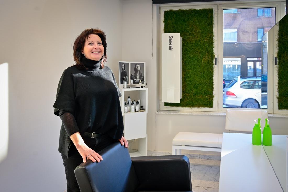 Wilrijks kapsalon blijft gezond én warm dankzij Finse ventilatie - Gazet van Antwerpen