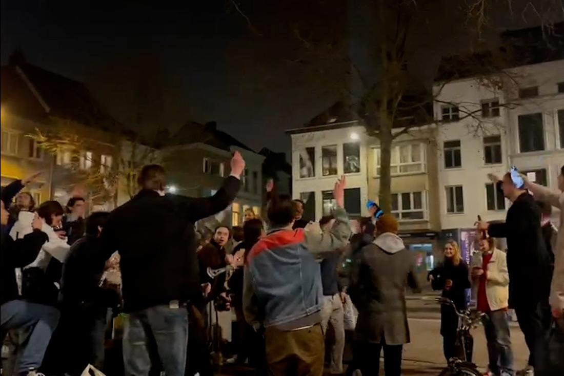 Samenscholingen op verschillende plaatsen in Antwerpen: politie grijpt in