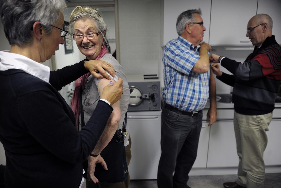 België heeft 800.000 extra griepvaccins voorzien om mogelijke golf op te vangen