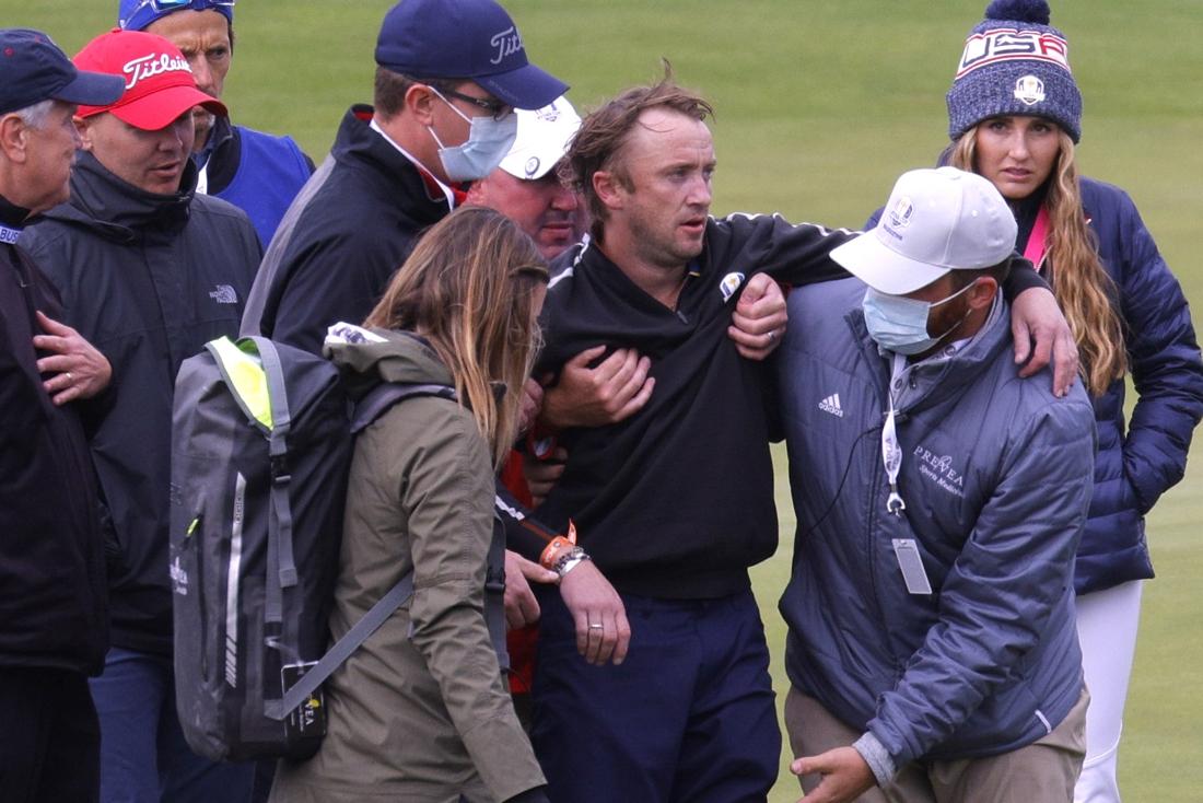 Acteur die Draco Malfoy speelde in 'Harry Potter'-films stuikt in elkaar op golfbaan