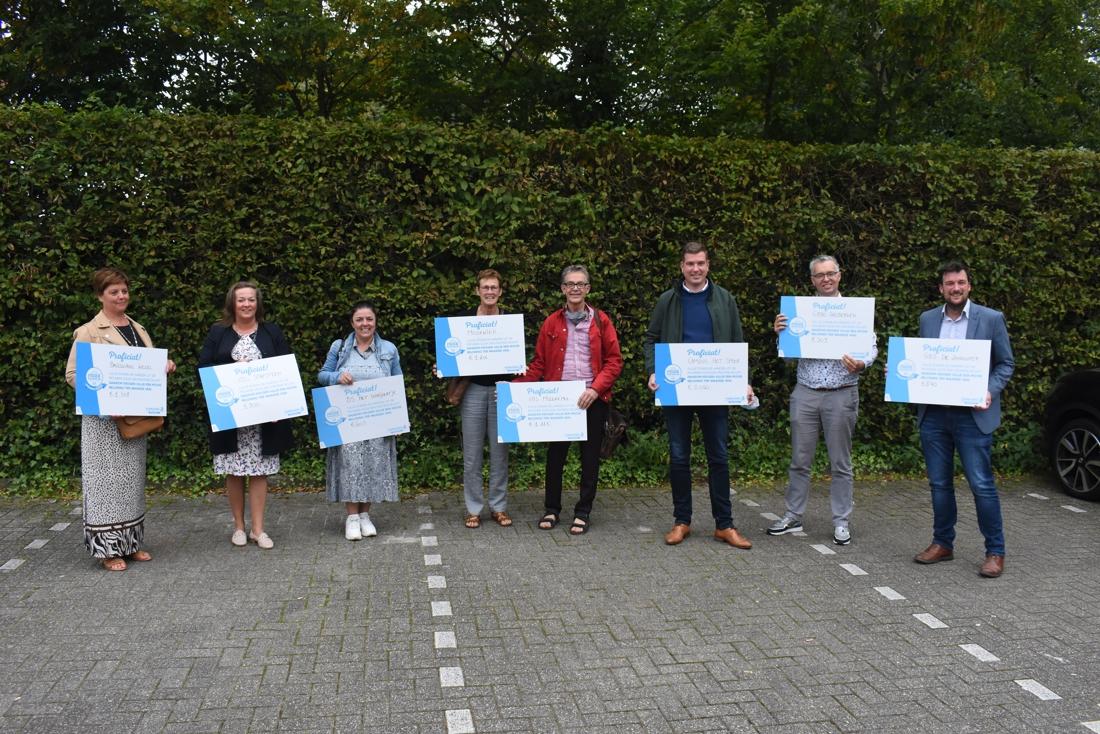 Acht scholen ontvangen beloning voor deelname Operatie Proper