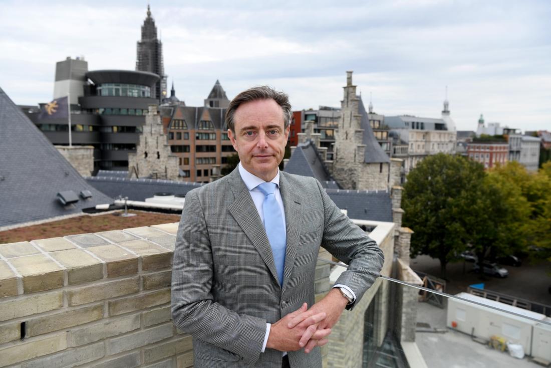 """De Wever gaat vol voor derde legislatuur als Antwerps burgemeester: """"Ik wil de Grote Verbinding afgewerkt zien"""""""