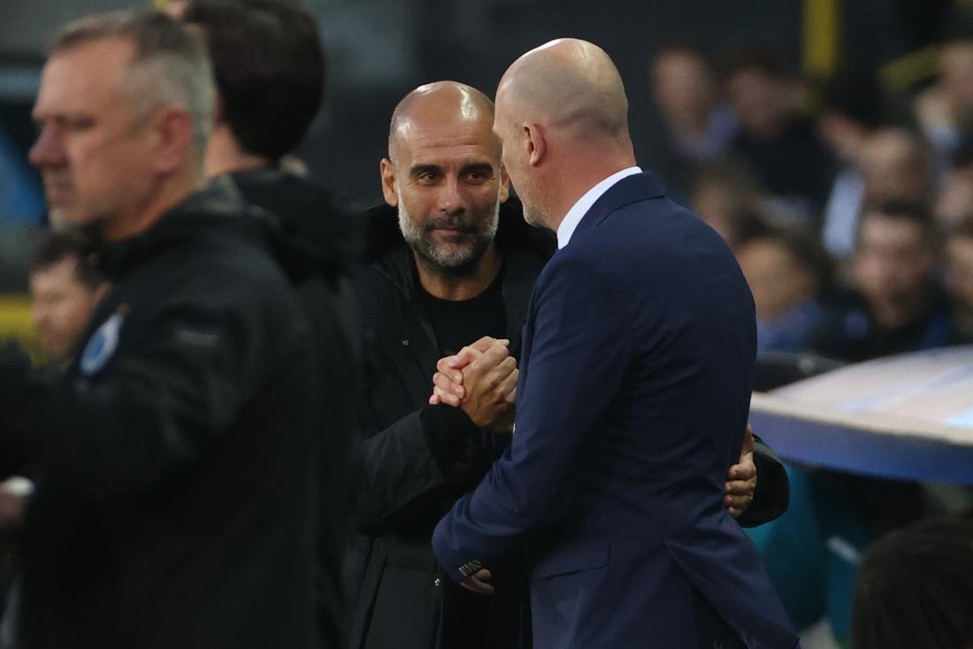 "Pep Guardiola nadat hij Club Brugge overklaste met Man City: ""Ik kreeg tips van Vincent Kompany"""