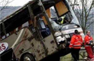 Chauffeur busongeval krijgt psychologische bijstand