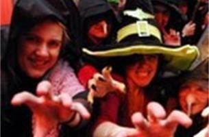 Juffen Klein Seminarie houden heksensabbat