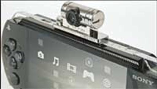 PSP krijgt eigen camera