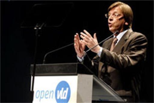 Open VLD startte campagne na 8 oktober