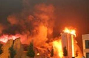 Brand in industriële koekjesbakkerij Malle