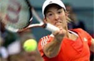 Justine Henin wint WTA-toernooi Stuttgart