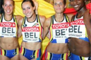 Nationale Trofee voor Sportverdienste voor 4x100m vrouwen