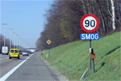 Snelheidsbeperking door smogalarm zondag opgeheven