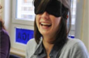 Nieuws in Beeld: onze reporter kookt blind