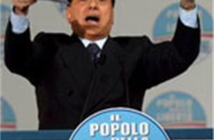 Berlusconi verscheurt programma tegenstander