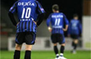 Club Brugge krijgt uppercut van Moeskroen: 2-0
