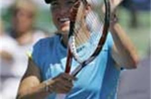 WTA Miami: Justine Henin naar kwartfinales