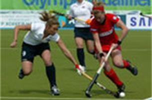 Belgische hockeyvrouwen bijna in Peking