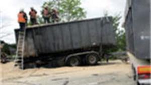 Zwaar verkeersongeval op E17 eist 22 gewonden - Fotoalbum