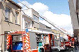 Brand verwoest acht studio's in Herentals