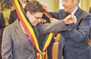 Cathy Berx worstelt met gouverneurssjerp