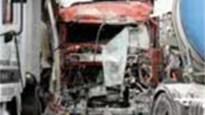 E17 vrijgemaakt na twee zware ongevallen met vrachtwagens