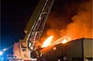 Brand Mechelse Sauna Imelda aangestoken